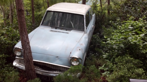 Weasleys' Ford Anglia