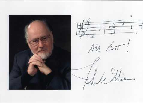 John Williams Autograph