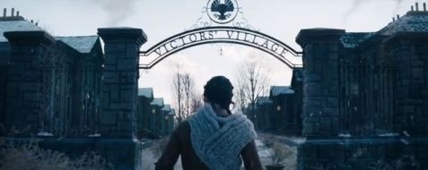Katniss at the Victors' Village