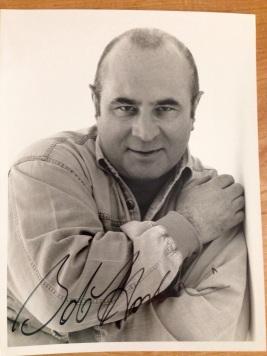 Bob Hoskins Autographed Picture