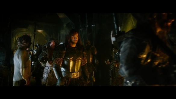 Kili and the Dwarves