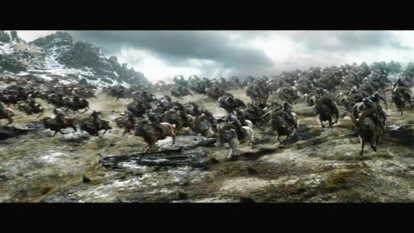 An army of warg riders