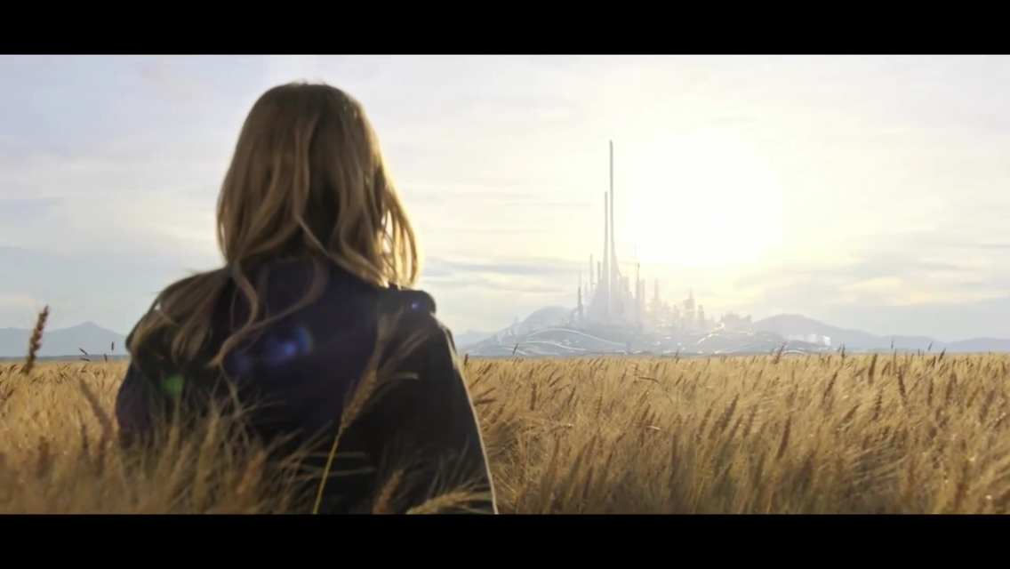 First glimpse of Tomorrowland