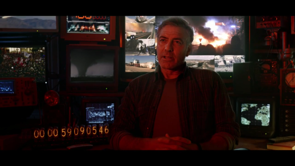 George Clooney as Frank Walker in Tomorrowland