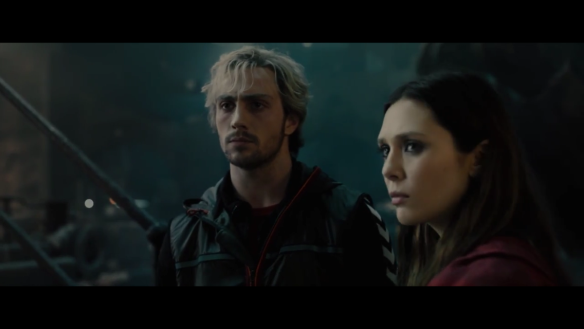 Age of Ultron Quicksilver and Scarlet Witch