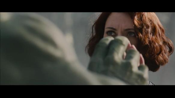 Avengers: Age of Ultron Romanoff and Hulk