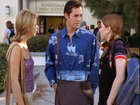 School Hard Buffy Xander Willow