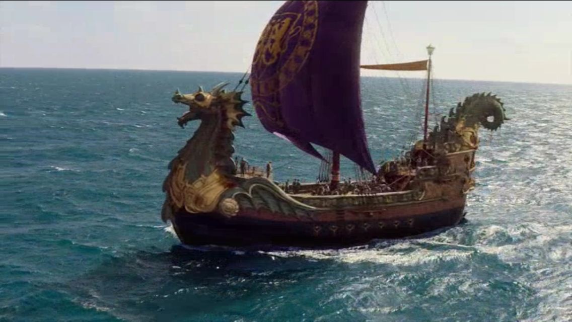dawn treader the love pirate