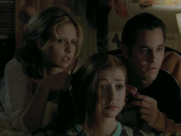 Buffy, Xander, Willow, Reptile Boy