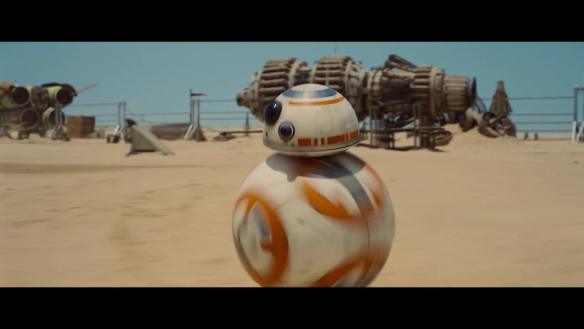 Star Wars: The Force Awakens, new droid