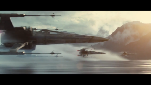 Star Wars: The Force Awakens, X-Wings