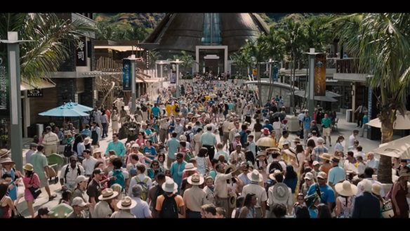 Main Street Jurassic World