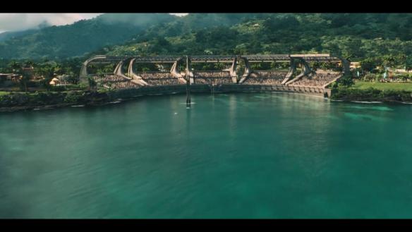 Mosasaurus amphitheater