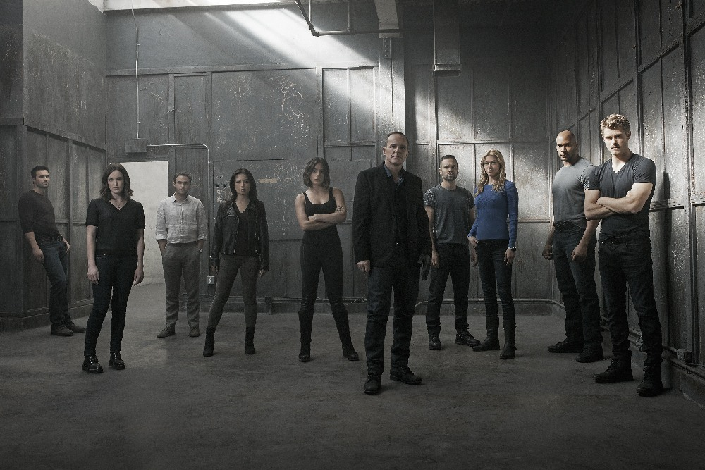 Agents of SHIELD Cast - Season 3