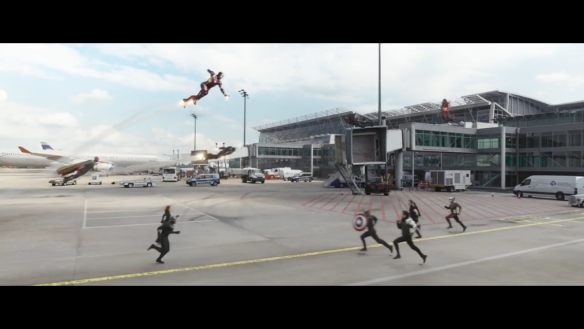 Battle at the Airport