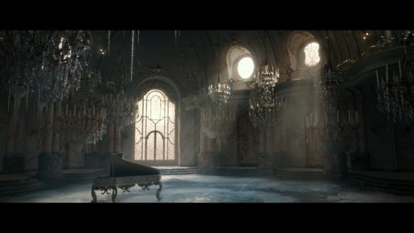 Beauty and the Beast ballroom