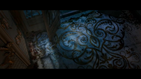 Beauty and the Beast floor detail