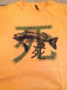 "Jayne's ""dead fish"" shirt"
